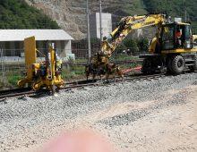 Eisenbahnbau …
